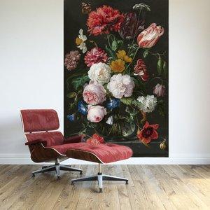 zelfklevend-fotobehang-stilleven-met-bloemen-in-ee